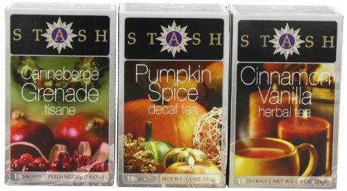 Stash Tea Company Autumn Teas Trio Gift Set