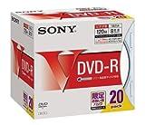 SONY DVD-R ディスク 録画用 120 分 8倍速 お買い得 20枚入り 5ミリケース 20DMR12HPSS