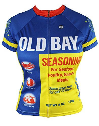 OLD BAY® Women's Cycling Jersey (Medium) (Old Cycling Jersey compare prices)