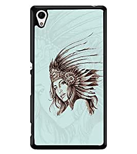 PRINTSWAG GIRL Designer Back Cover Case for SONY XPERIA Z4