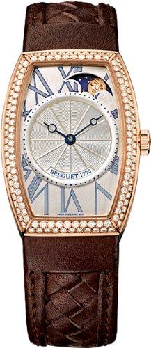 Breguet Heritage Phase de Lune Ladies Rose Gold Diamond Automatic Watch 8861BR/11/386 D000