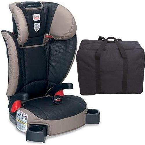 Britax Parkway Sg - Belt Positioning Booster Seat With A Car Seat Travel Bag - Knight front-961658