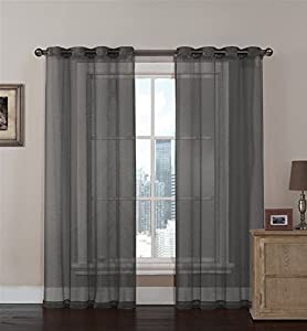 Single Curtain Rod Installation Making Grommet Curtains