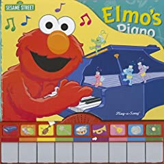 Sesame Street Song Book: Elmo's Piano (Sesame Street (Publications International)) Editors of Publications International Ltd., Editors of Play-a-Song Books and Warner McGee
