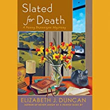 Slated for Death: A Penny Brannigan Mystery (       UNABRIDGED) by Elizabeth J. Duncan Narrated by Anne Flosnik