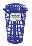 Nayasa Laundry Basket Round Purple