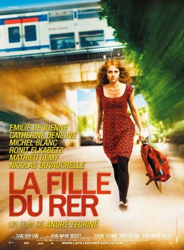 The Girl On The Train Movie Poster (27 X 40 Inches - 69Cm X 102Cm) (2009) French -(Émilie Dequenne)(Michel Blanc)(Catherine Deneuve)(Mathieu Demy) front-478030