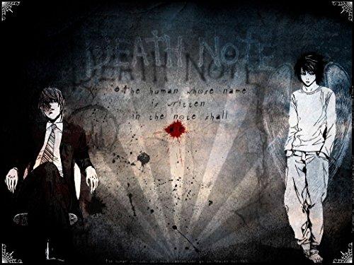 Death Note 206 Waterproof Plastic Poster Poster di Plastica Impermeabile - Anti-Fade - Possono utilizzare su Outdoor/Giardino/Bagno