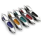 Partstock(TM) 5PCS Car Ballpoint Pen, Cartoon Cute, Novelty Pen, Size12x2.4cm, Gift Pen,multicolor.Ink color Blue