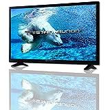 Tristan Auron LED24FullHD 61 cm (24 Zoll) LED-Backlight-Fernseher (FULL-HD, 100Hz) USB / DVB-T / DVB-C / DVB-S2 / PVR / Triple Tuner +++BRANDNEU / PREISBRECHER+++