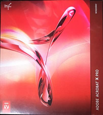 BRAND NEW SEALED ADOBE ACROBAT X PRO WINDOWS SEALED NEW