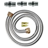 Watts Dormont 30-3131KIT-48 Gas Range Installation Kit 48-Inch Length 5/8-Inch Diameter