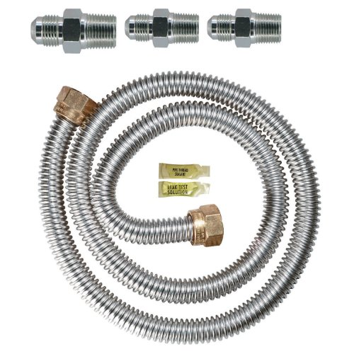 Watts Dormont 30-3131KIT-48 Gas Range Installation Kit 48-Inch Length 5/8-Inch Diameter