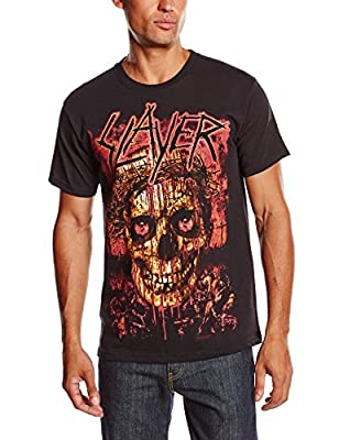 Slayer Herren T-Shirt Crowned Skull