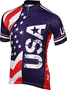 BDI Mens USA Cycling Jersey by BDI