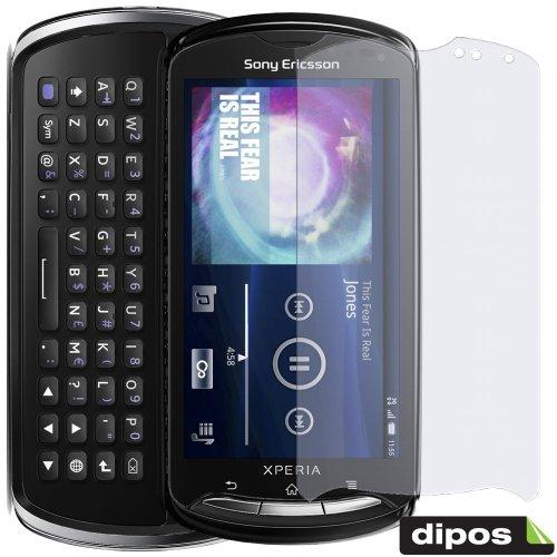 2x DIPOS Antireflex Displayschutzfolie für Sony Ericsson Xperia Pro MK16i