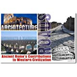 Western Civilization: Ancient Rome Contributions, Classroom Poster
