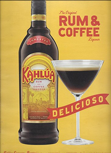 print-ad-for-2012-kahlua-alcohol-rum-coffee-delicioso-yellow-background