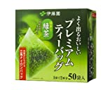伊藤園 よく出るおいしいプレミアムティーバッグ抹茶入り緑茶 50袋