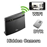 PalmVID WiFi Router Hidden Camera Spy Camera with Live Video Viewing