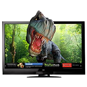 VIZIO XVT3D650SV 65-Inch Theater 3D Edge Lit Razor LED LCD HDTV with VIZIO Internet Apps, Black