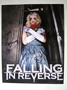 Falling In Reverse Rp Signed 11x14 Album Art Poster Photo