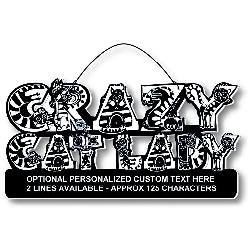 Cool Cats Crazy Alphabet-Cat Laser-Etched 3-In-1 Plaques Ver1 Love Cats Black front-138233