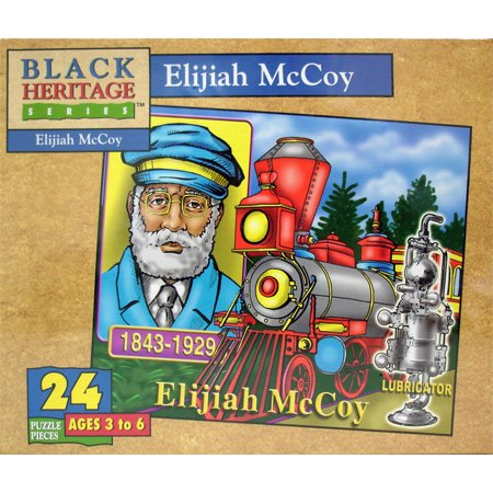 Black Heritage Series - Elijiah McCoy - Jigsaw Puzzle - 24 Pc