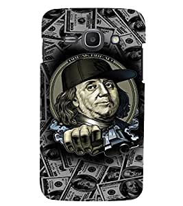 PRINTVISA Benjamin Thug Life Case Cover for Samsung Galaxy J1