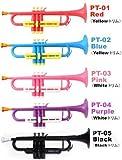 タイガートランペット (P) Tiger Trumpet/プラスチック製トランペット 【タイガートランペット】 PT-01 Red