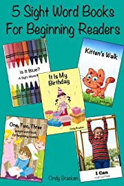 5 Sight Word Books For Beginning Readers (Volume 1) (I Love Reading)
