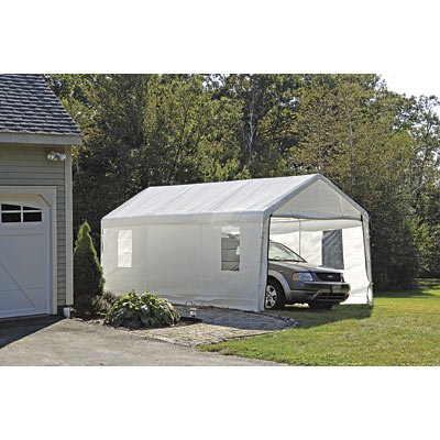 ShelterLogic 10x20 Canopy Enclosure Kit with Windows for 1-3/8