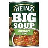 Heinz Chunky Veg Big Soup 400 g (Pack of 12)