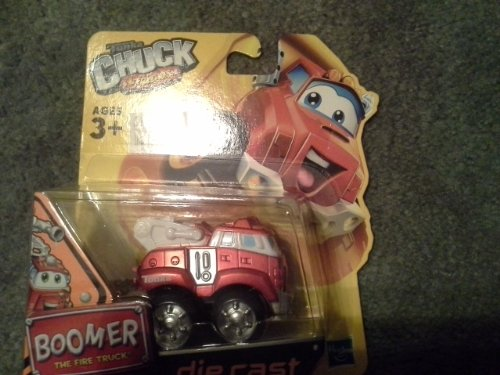 "Tonka Chuck & Friends - ""BOOMER the Fire Truck"" die cast Metal Truck - 1"