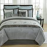 Aurora 4-Piece Comforter Set, Queen