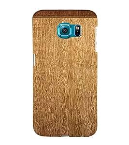 Browne Mat 3D Hard Polycarbonate Designer Back Case Cover for Samsung Galaxy S6 Edge :: Samsung Galaxy Edge G925