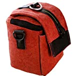 MegaGear ''Ultra Light'' Camera Case Bag Rose for Canon SX50 HS, Sx510 HS, Sx500, Nikon P520, P530, L820, L830 Panasonic FZ200, Canon Powershot SX400 IS, Canon Powershot SX520 HS, Canon Powershot SX530 HS