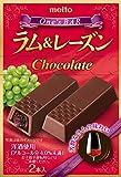 名糖産業 ONE'BARラム&レーズンチョコ 2本×10箱