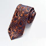 WSS Rojas lazo ropa de etiqueta negocio novios de boda mejor hombre boda hombre 7CM alta densidad 1200 puntadas de los hombres . p06