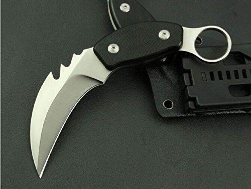 Black Claw Speedster Finger Hole Folding Rescue Knife Mkjgz-7.08''