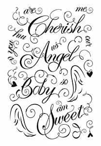Basic Grey Clear Stamps-Sugared Too Sweet