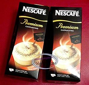Nestle Nescafe Instant Coffee - Cappuccino Reduced Sugar