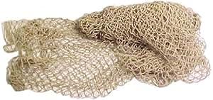 Fischernetz 120 cm x 250 cm, grob, natur