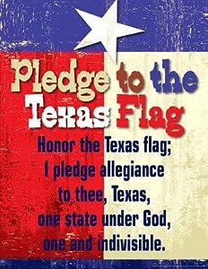 Amazon Com Pledge To The Texas Flag Classroom Say It