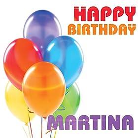 happy birthday martina