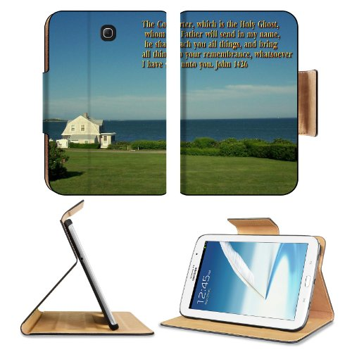 John Comforter Holy Father Teacher Samsung Galaxy Note 8 Gt-N5100 Gt-N5110 Gt-N5120 Flip Case Stand Magnetic Cover Open Ports Customized Made To Order Support Ready Premium Deluxe Pu Leather 8 7/16 Inch (215Mm) X 5 11/16 Inch (145Mm) X 11/16 Inch (17Mm) L front-71304