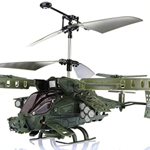 Avatar GUNSHIP JH-J283 3.5CH RC IR Infrared Helicopter with Gyro Flash Light LED