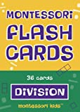 Montessori Flash Cards Divison Basic