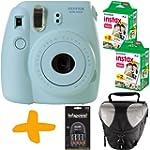 Fuji Instax Mini 8 Blau Sofortfilmkam...