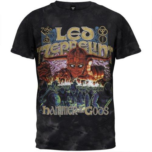Led Zeppelin - Mens Hammer Of The Gods T-Shirt X-Large Black